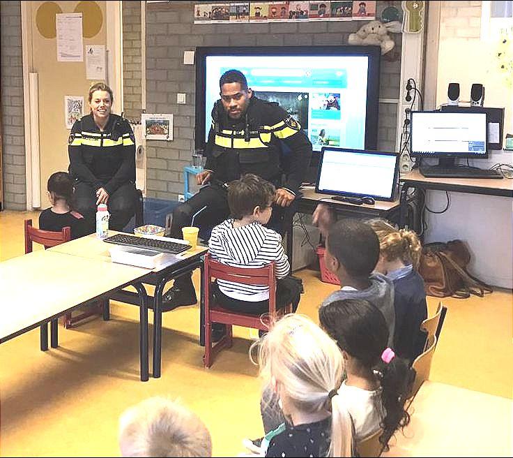 Jeugdagent Melvin Jubitana   Basisschool De Dukdalf in Almere Buiten